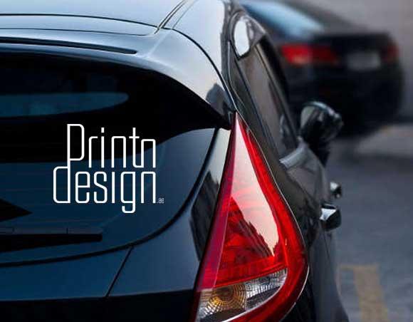 car decal sticker printing Dubai