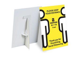 social distancing strut card dubai