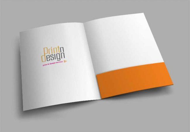 folder printing dubai